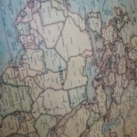 Vintage World Map photo review