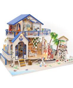 beach-villa-miniature-house-greenhouse-kit-room-1