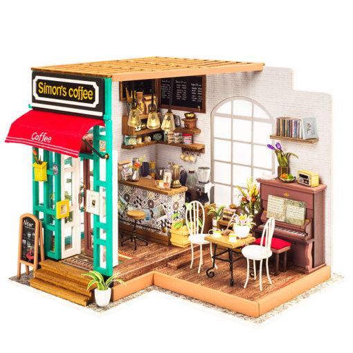 coffee-shop-doll-house-miniature-house-kit-room-1