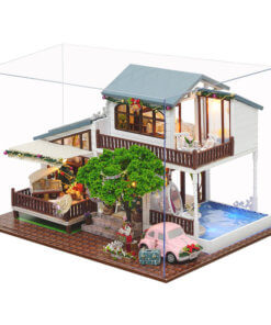 miniature-christmas-house-studio-doll-house-miniature-house-kit-room-4