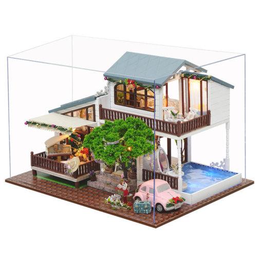 miniature-christmas-house-studio-doll-house-miniature-house-kit-room-4