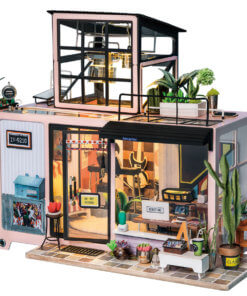 miniature-record-studio-doll-house-miniature-house-kit-room-1