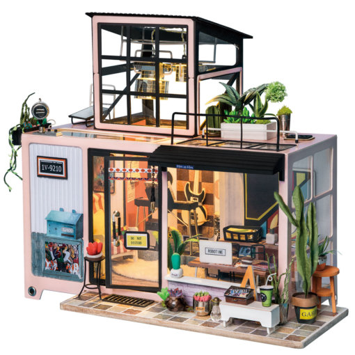 miniature-record-studio-doll-house-miniature-house-kit-room-1