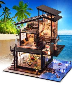 miniature-villa-doll-house-miniature-house-kit-room-5